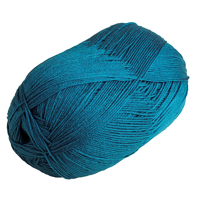 Knit Picks Brava 500 Yarn Medium Worsted Premium Acrylic 17.6 oz (Peacock)