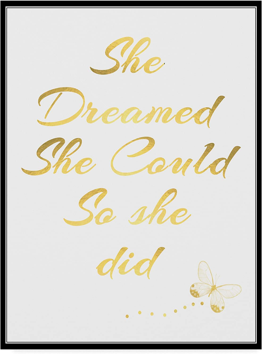 She Dreamed She Could So She did by ALI Chris, 14x19Inch
