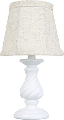 AHS Lighting L2767WH-UP1 Mini Accent Lamp, Twist-White
