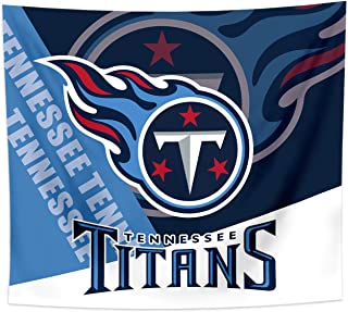 Gloral HIF Tennessee Titans Tapestry Wall Decor Room Decal Blanket Decorations 50x60 Inches