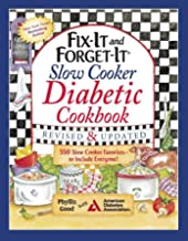 Fix-It and Forget-It Slow Cooker Diabetic Cookbook: 550 Slow Cooker Favorites―to Include Everyone!