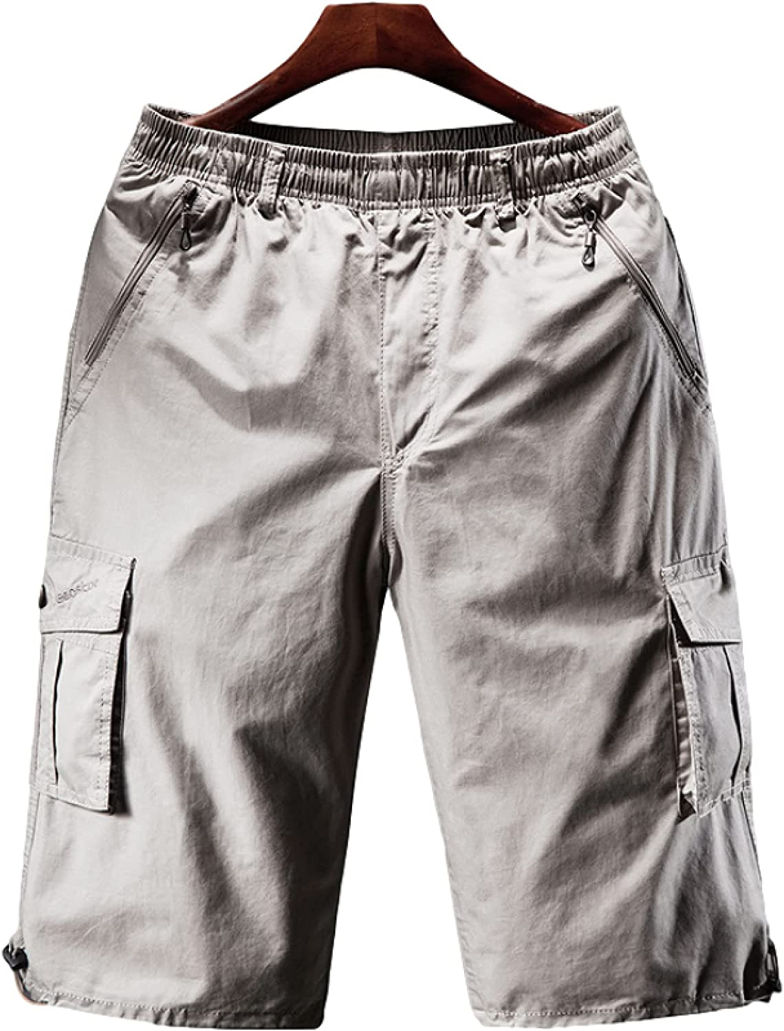 Men's Loose Large Size Shorts Casual Comfortable Elasticated Waist Outdoor