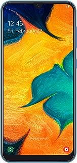 Samsung Galaxy A30 Dual SIM - 64GB, 4GB RAM, 4G LTE, Blue, UAE Version