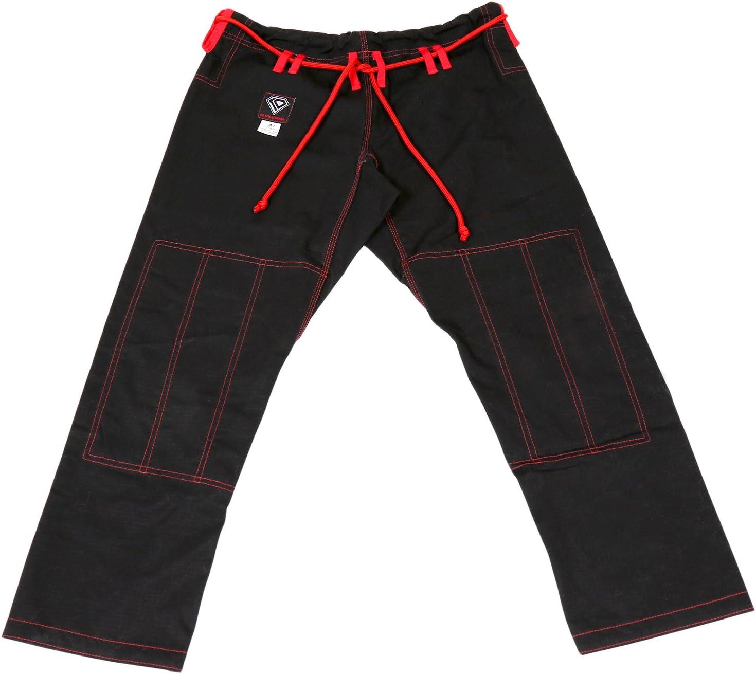 KO Cash special price Sports Gear Black Gi Pants 100% Cotton Ultra-Cheap Deals Stop – Preshrunk Rip R