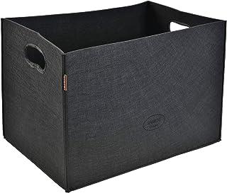 grau Euopat Aufbewahrungskiste Filz Ablagekorb Wohnzimmer Couchtisch Aufbewahrungsbox Tuch Filz Aufbewahrungskorb
