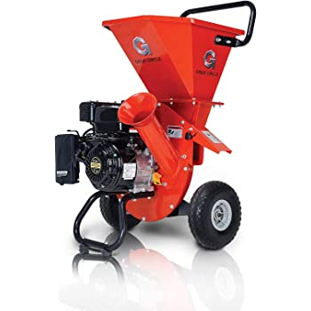 "GreatCircleUSA Wood Chipper Shredder Mulcher Heavy Duty 212cc Gas Powered 3 in 1 Multi-Function 3"" Inch Max Wood Diameter Capacity EPA/CARB Certified Aids in Fire Prevention & Building a Firebreak"
