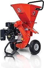 GreatCircleUSA Wood Chipper Shredder Mulcher Heavy Duty 212cc Gas Powered 3 in 1..