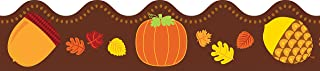 Carson Dellosa – Acorns & Pumpkins Scalloped Borders, Fall Classroom Décor, 13 Strips