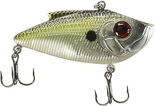 Livingston Lures 0131 Pro Ripper Chrome Triple XXX Shad Fishing Terminal Tackle, Multicolor