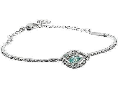 Swarovski Sparkling Dance Bangle Bracelet (CZ Frosty Mint) Bracelet