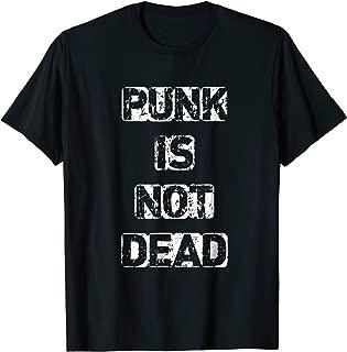 PUNK ROCK CONCERT T-SHIRT PUNK IS NOT DEAD