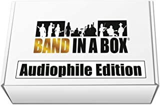 Band-in-a-Box 2016 Audiophile Edition [Old Version, Mac USB Hard Drive]