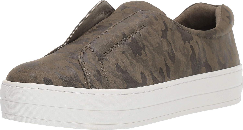 J/Slides New Women's Heidi Slip On Sneaker Green Camo Leather 7.5