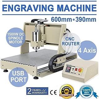 Engraver Machine by 2013newestseller,Power Milling Machines 4 Axis USB 6040 1.5KW VFD CNC Router Engraver Engraving Drill Milling Machine Cutting MACHINE MACH3 VFD Machine