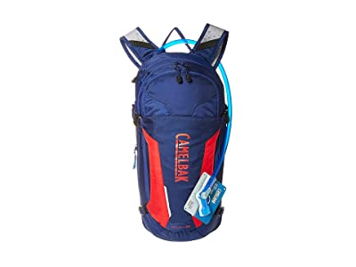 CamelBak M.U.L.E. 100 oz (Pitch Blue/Racing Red) Backpack Bags