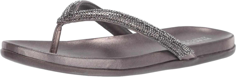 Kenneth Cole REACTION Womens Slim Thong Sandal Flat Sandal