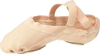 Bloch Girl's Synchrony Split Sole Stretch Canvas Ballet Slipper / Shoe
