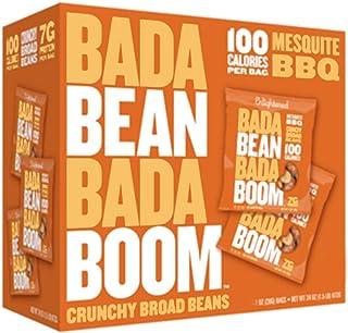 Enlightened Bada Bean Bada Boom Bada Bean Bada Boom Roasted Broad Beans Mesquite Bbq, 12 x 28 gm
