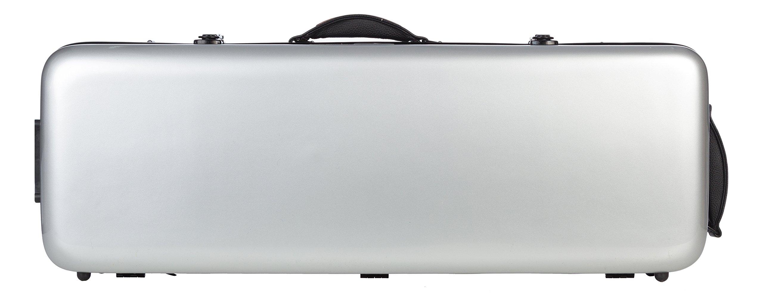 Estuche de viola fibra Oblong 38-43 Plata M-Case + music bag: Amazon.es: Instrumentos musicales