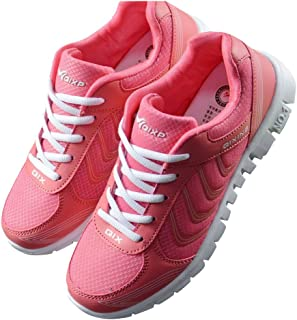 DUOYANGJIASHA Fashion Brand Best Show Womens Athletic Mesh Breathable Sneakers Running Sports Shoes