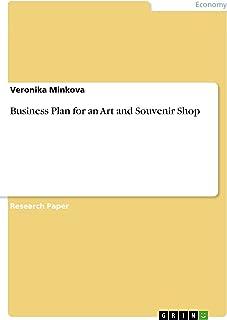 Business Plan for an Art and Souvenir Shop (English Edition)