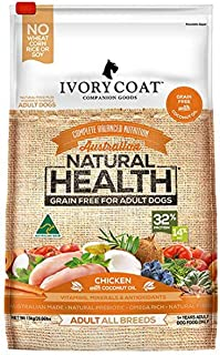 Ivory Coat Adult and Senior Chicken & Coconut 13kg Grain Free Dog Food
