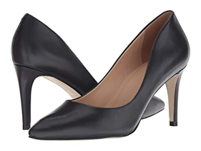 Massimo Matteo Raven Pump (Marinho Leather) High Heels