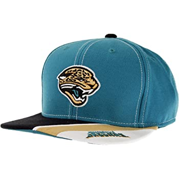 Team Color Youth One Size NFL Jacksonville Jaguars Youth  Outerstuff Black and White Structured Adjustable Hat