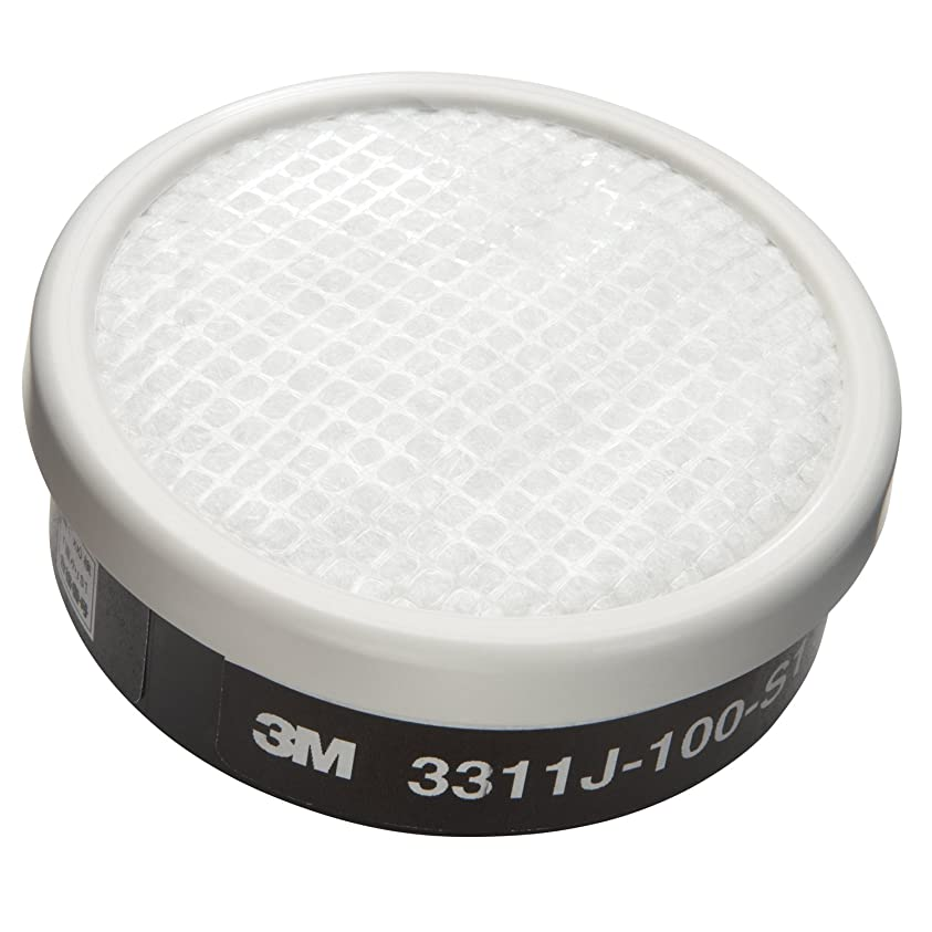 要旨不明瞭コール3M 吸収缶 3000シリーズ 有機ガス用 防じん機能あり 3311J-100-S1