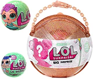 LOL Big Surprise MEGA Bundle includes (1) Limited Edition Ball, (1) Let's Be Friends! Series 2 Doll, (1) Her Lil Sister an...