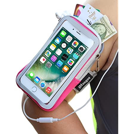 Sport Gym Mobile Pouch Armband Outdoor Running Wrist Arm Bag Phone Money Holder