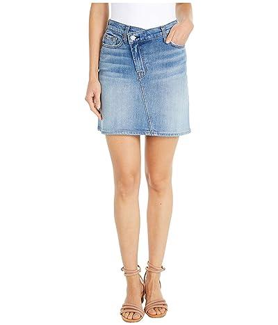 7 For All Mankind Asymmetrical Skirt in Retro Ventura (Retro Ventura) Women