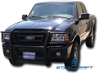 Steelcraft 51120 Grille Guard, Black