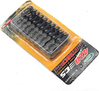 Wingsmoto Chain Master Links 420 90cc 110cc 125cc PIT Quad Dirt Bike ATV Buggy Pack of 20