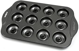 Norpro 3980 Nonstick Mini Donut Pan, 12-Count
