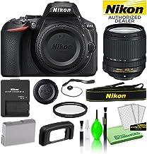 $896 » Nikon D5600 24.2MP DSLR Digital Camera with AF-S DX 18-140mm Lens (1577) USA Model Best Value Starter Bundle Kit -Includes- 67mm UV Filter + Battery + Battery Charger + Deluxe Cleaning Kit + More