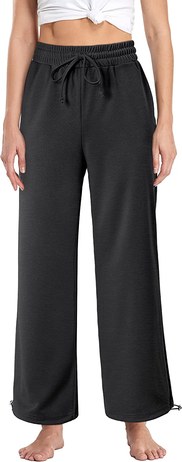 Hibelle Womens All items in the store Jogger Sweatpants Wide Casual Drawstring Pant San Diego Mall Leg