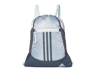 adidas Alliance II Sackpack (Sky Tint Blue Two-Tone/Legacy Blue) Bags