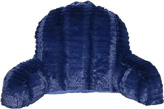 Brentwood Originals Cut Fur Jr Back Rest Pillow, Junior Backrest, Grey