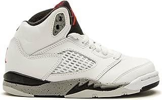 Jordan Air 5 Retro BP White Red Black 440889-104 (Size  12bbbe189