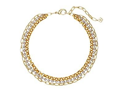 Kendra Scott Brlyee Multi Strand Necklace (Mixed Metal) Necklace