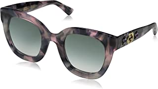 غوتشي نظارات شمسية للنساء - رمادي ، GG0208S_004_49