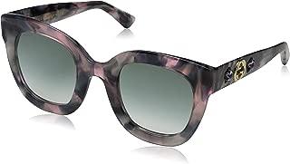 Gucci GG0208S Plastic Fashion Sunglasses 49 mm