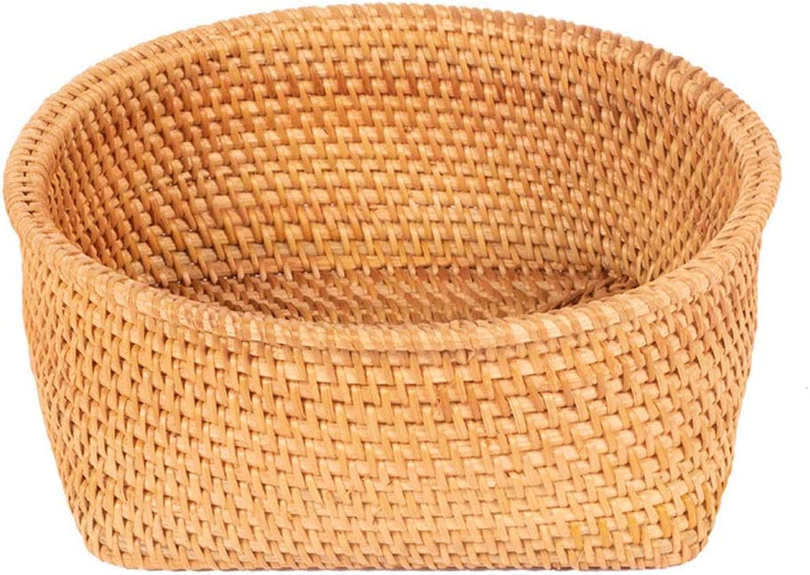 lxm Round All items free shipping Rattan Basket Finishing Egg Hand-Woven Seattle Mall