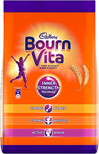 Cadbury Bournvita Pro Health Chocolate Drink Pouch 750 g