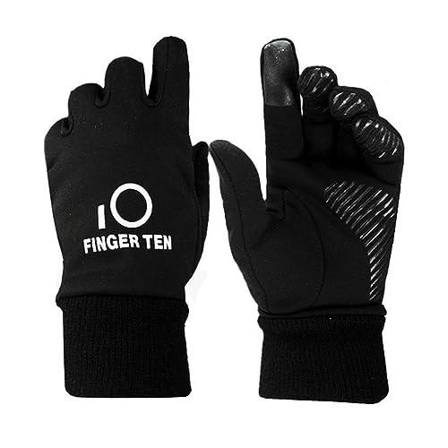 eb81102b0d8 Finger Ten Junior Boys Girls Running School Warm Touchscreen 3M Winter  Gloves Value Pack 1 Pair