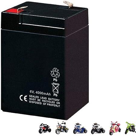 Ersatzakku NT6-4,5 6V4,5Ah 20HR Kinderfahrzeug Kinderauto Elektroauto Motorrad