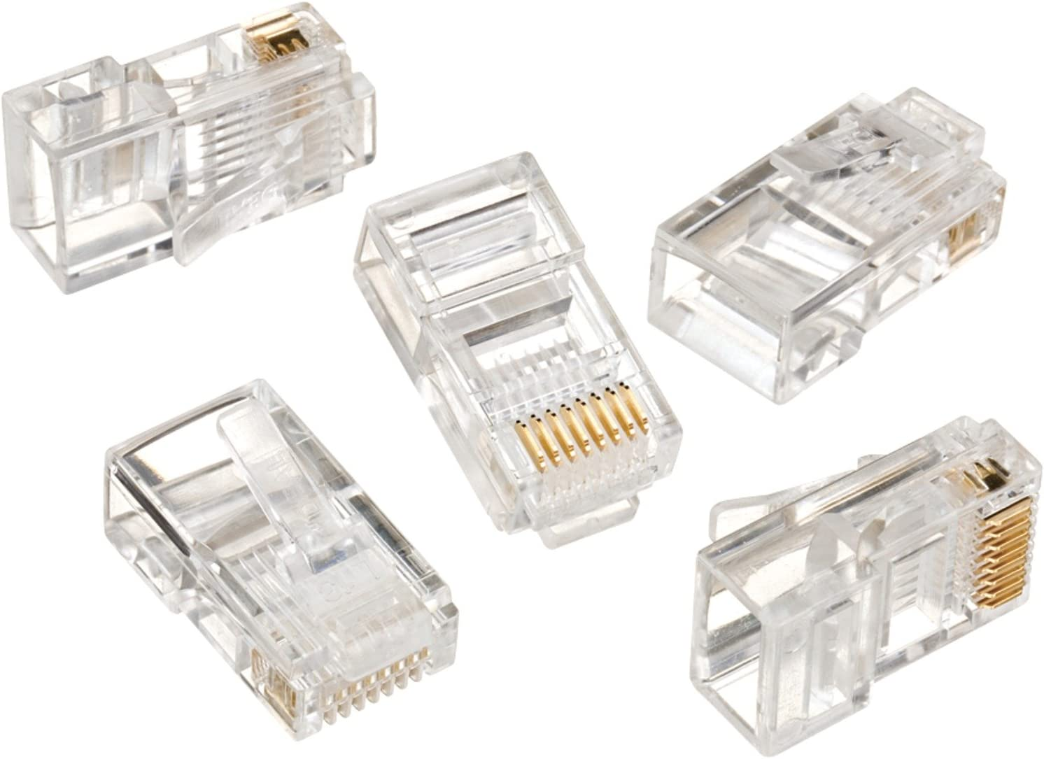 IDEAL 85-346 RJ45 8P8C Max 71% OFF Mod 25 New York Mall Plugs Card Multicolor of