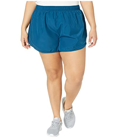 Nike Dry Tempo 3 Running Short (Size 1X-3X) (Space Blue/Bold Berry/Wolf Grey) Women