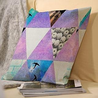 SedExd Linge de Maison de décoration carré Double Face taie d'oreiller Mignon Convient pour Voiture canapé du Salon en Ple...